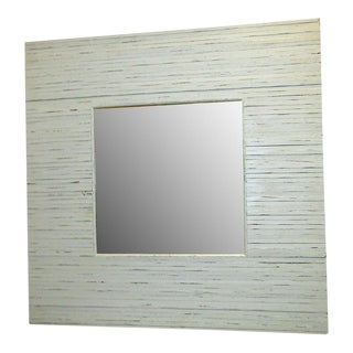 Square Driftwood Framed Mirror
