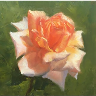 Rose Origianl Oil Paintng