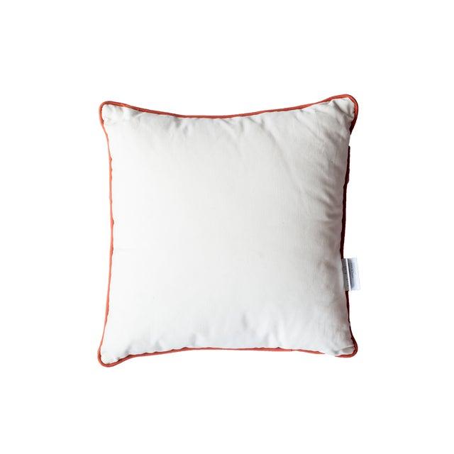 Orange Coral Pillow - Image 2 of 2