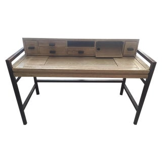 Contemporary Industrial-Style Desk