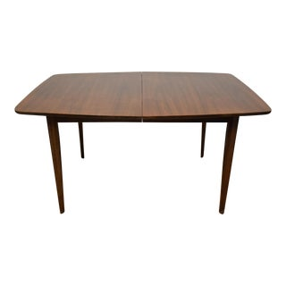 Mid-Century Walnut Dining Table