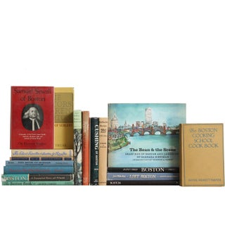 Boston: Reminiscent & Historical Views Books - Set of 17