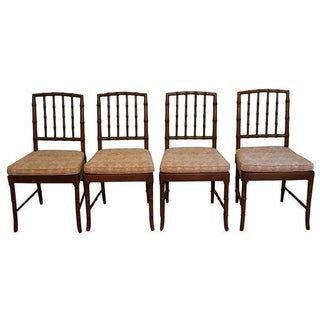 Kindel Chinese Chippendale Chairs - Set of 4
