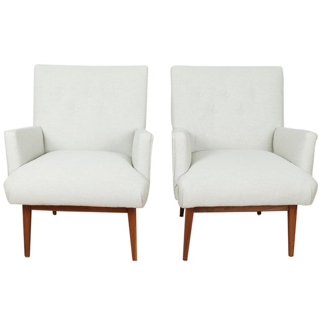 Jens Risom Lounge Chairs - Image 1 of 8