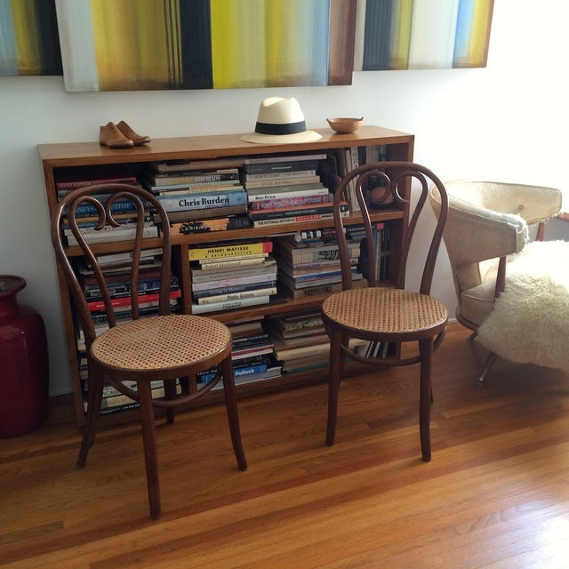 Bentwood Thonet Cafe Chairs - A Pair - Image 3 of 10