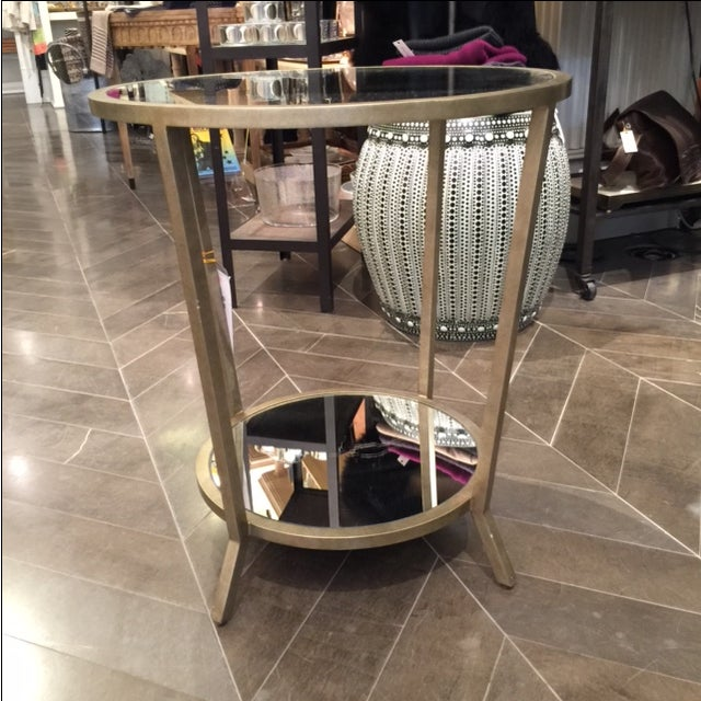 Julian Chichester Two Tiered Mirrored Table - Image 3 of 7