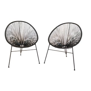 Onyx Outdoor Acapulco Chairs - A Pair