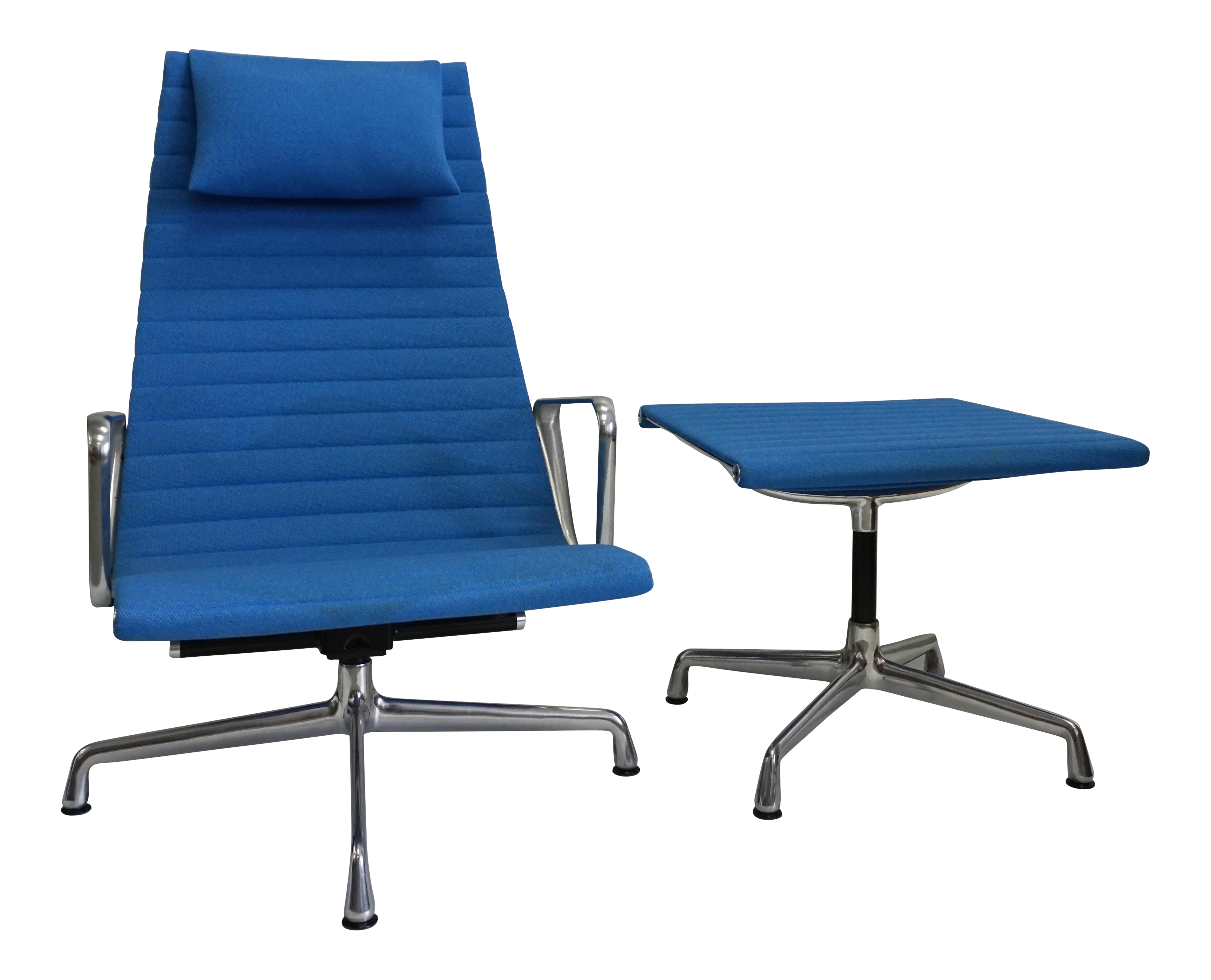Eames Office Collection Chair Amp Ottoman Chairish