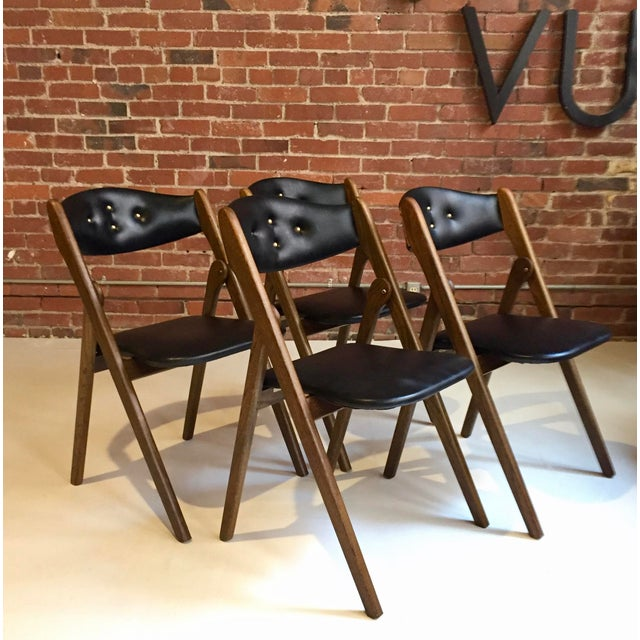 1960's Norquist Coronet Wonderfold Chairs -Set of 4 - Image 2 of 11