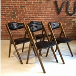 Image of 1960's Norquist Coronet Wonderfold Chairs -Set of 4