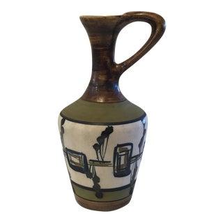 Israeli Harsa Pottery Pitcher