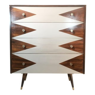 Paul McCobb Mid-Century Modern Geometric Chest