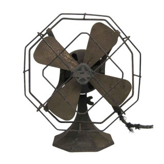 Antique Star Rite Fan