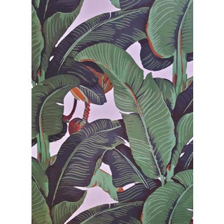 Beverly Hills Hotel Banana Leaf Wallpaper