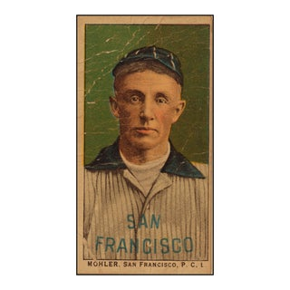 1800s San Francisco Baseball Card Print