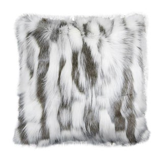 "Piper Collection Faux Fur ""Misha"" Pillow"