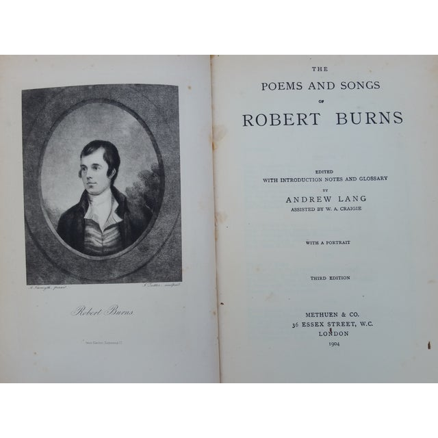 Image of Poems and Songs Robert Burns