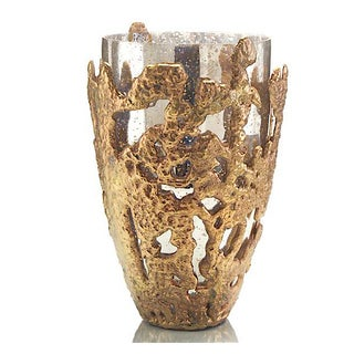 John Richard Transitional Gold and Silver Vase