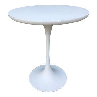 Burke Mid-Century Saarinen Style Tulip Side Table