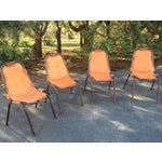 Image of Les Arcs Style Chairs/Charlotte Perriand -Set of 4