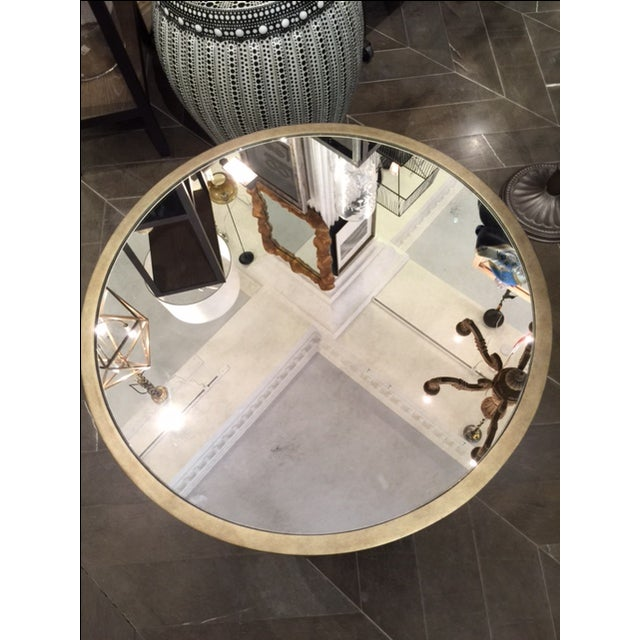 Julian Chichester Two Tiered Mirrored Table - Image 4 of 7