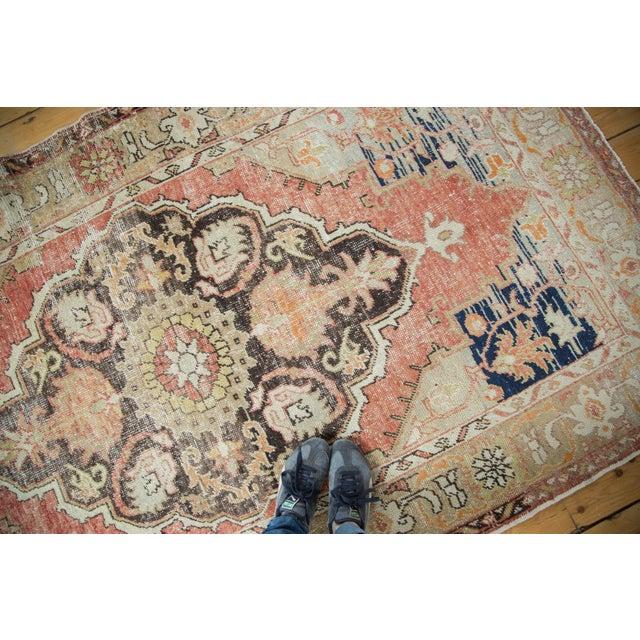 Vintage Oushak Carpet - 4′10″ × 8′2″ - Image 10 of 10
