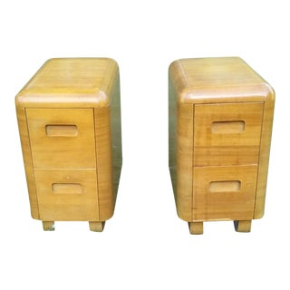 Paul Goldman Plycraft Nightstands - A Pair