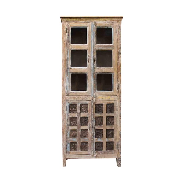 'Stamps' Tall Cabinet - Image 1 of 6