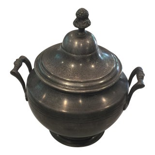 Vintage French Pewter Tureen