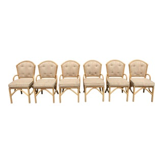Vintage Rattan Chairs - Set of 6