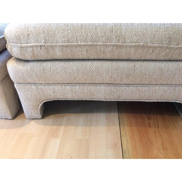 Milo Baughman Style Sectional Couch - Image 10 of 11