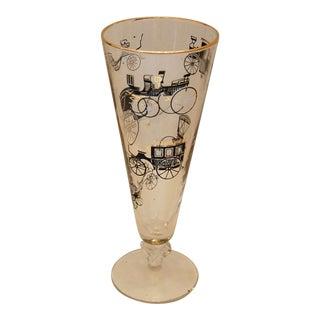 Mid Century Bareware of 5 Pilsner Glasses