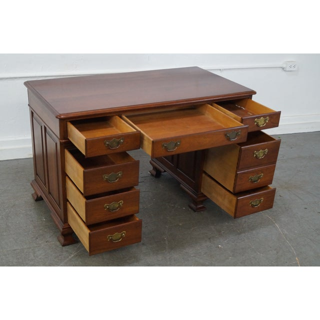 Pennsylvania House Solid Cherry Chippendale Desk Image 4 Of 10