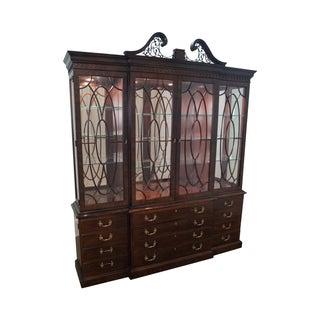 Henredon Rittenhouse Mahogany Chippendale Cabinet
