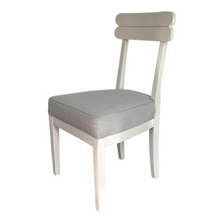 Hickory Chair White Painted Chair