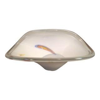 Decorative Murano-Style Glass Bowl