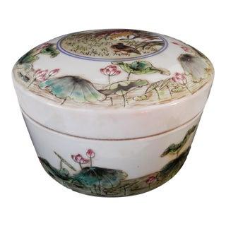 Famille Verte LG Cookies Porcelain Box