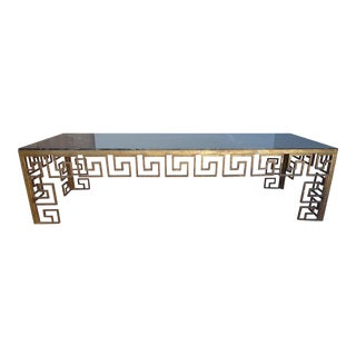 Marble Greek Key Coffee Table