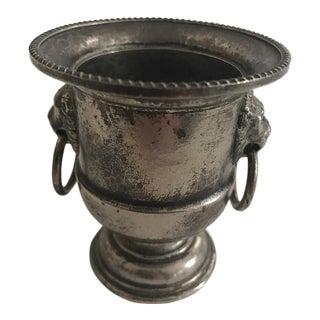 Petite Silver Plate Urn