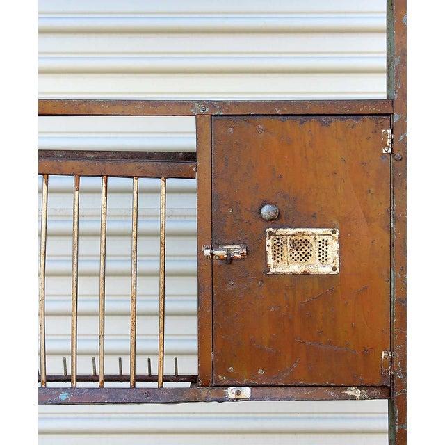 Image of Vintage Brown Iron Rack