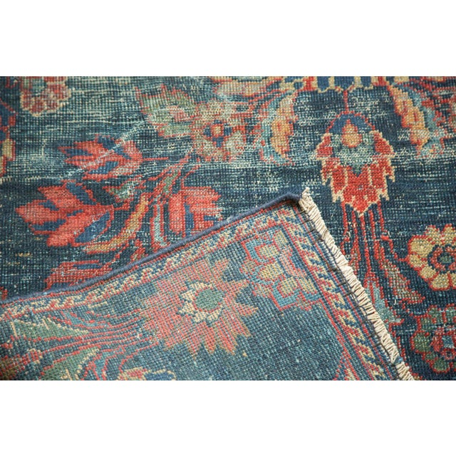 "Vintage Mahal Square Carpet - 6'4"" x 7'7"" - Image 9 of 10"
