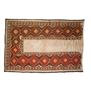Vintage Red & Brown Suzani Textile