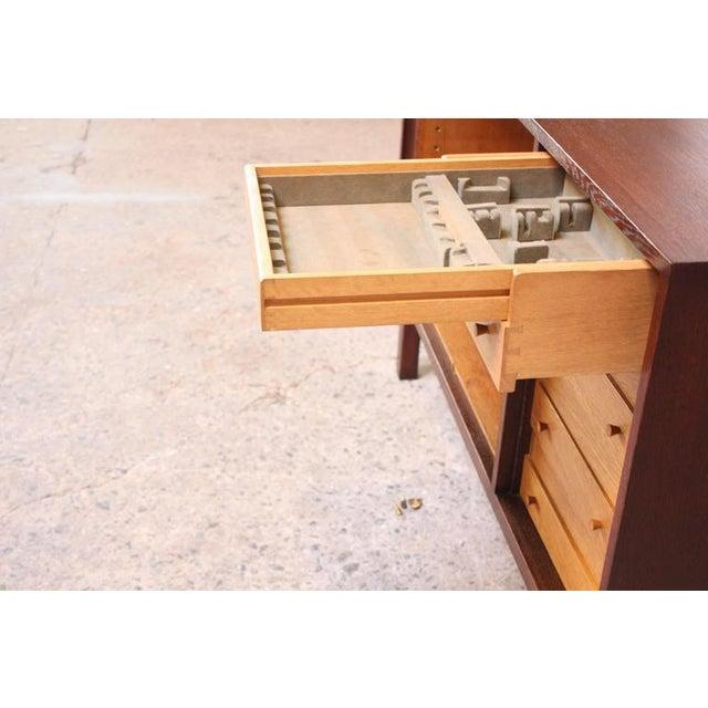 Danish Cabinet Maker Custom Oak Sideboard - Image 7 of 11