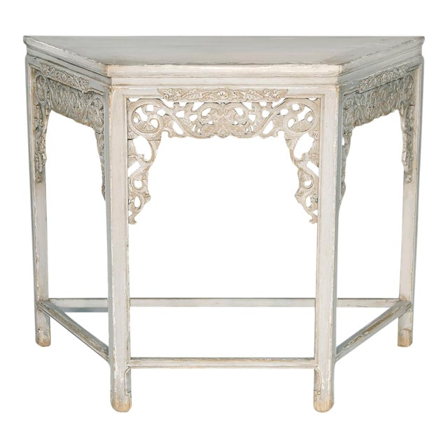 Sarreid Ltd. Replica Carving Wall Table - Image 1 of 3
