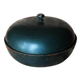 Vintage Asian Style Domed Wood Box