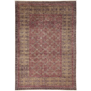 "Ziegler, Hand Knotted Area Rug - 6' 1"" x 8' 10"""