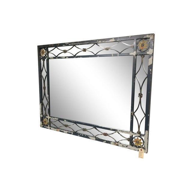 Large Mid-Century Mirror - Image 1 of 5