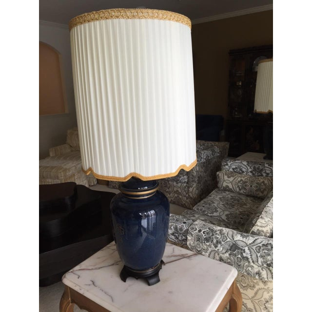 Vintage Ginger Jar Lamps - Pair - Image 2 of 3
