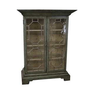 Colonial Williamsburg Architectural Curio Cabinet