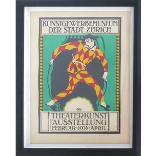 Zurich 1914 Theater Poster